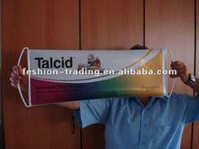hand rolling flag&fan scrolling banner