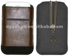 colorful mobile phone leather zipper case for iPhone 4G