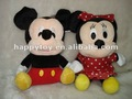 2012 mickey& minnie brinquedo mickey& minnie plush