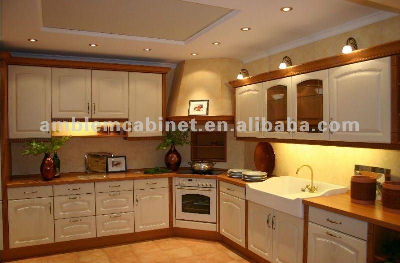 Modern Design PVC Kitchen Cabinet View Cabinet