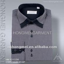 2012 newest designer check shirts for men