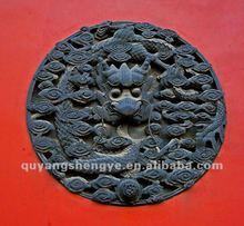 antique metal relief art