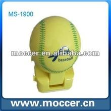 Baseball shape speaker