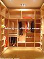 guardarropa de madera de la ropa