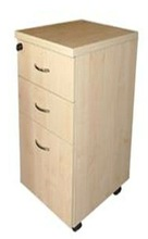 under-desk mobile and immobile pedestal, office panel wooden filing cabinet, BBF FF pedestal