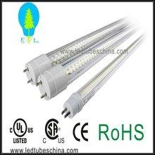 UL cUL listed 600mm 2ft 9w T8 LED light tube ,bi-pin base,one side wiring