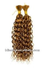 100% high quality humain hair spring bulk