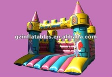 2012 new design inflatable King & Queen Castle