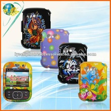 glossy hard protector cellphone design faceplate for LG Imprint MN240