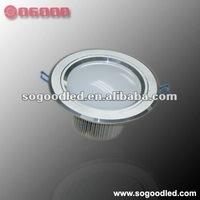 Round SMD 10W 12cm LED Downlights
