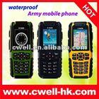 """2.2"""" Dual SIM military grade phones Waterproof Mobile Phone Umate A81"""