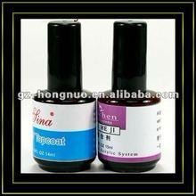 Pro Basic Top Coat + Nail Art Primer Base Tips UV Builder Gel Polish Kit HN1197