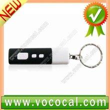 LED Digital Clock Projector Keychain