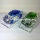 3d laser crystal model car