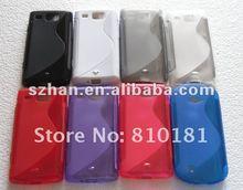 NEW S Line TPU Gel Case for Samsung Omnia W I8350