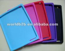 Silicon Skin Cover Case for iPad 3