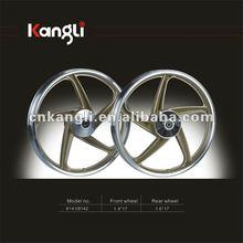 "17""alloy wheel for motorbike .70cc 110cc 125cc"