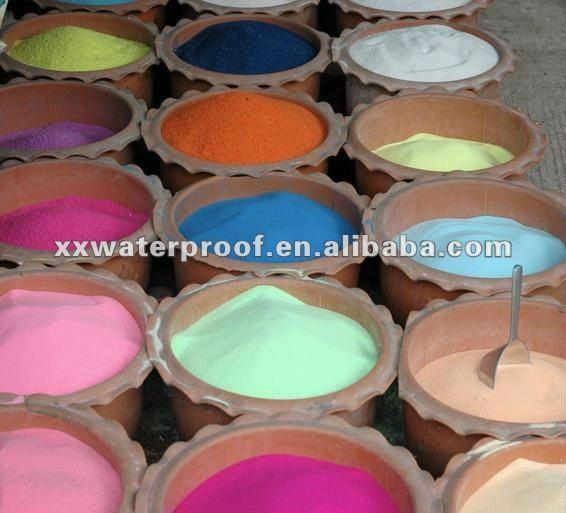 Sable fin de couleur pour d coratif sable id du produit for Sable decoratif de couleur