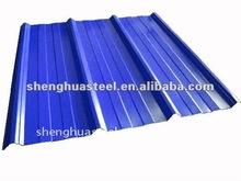 2012 900mm width blue color steel roof tile
