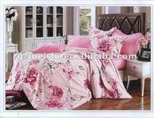 100% cotton printed bedspread,bedsheet