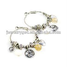 Wholeslae vintage desgin drop pendant earring,fashion alloy hoop eardrop,free shipping,er-555