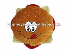 vivid plush hamburger soft children toy