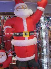Large size christmas father/ inflatable christmas santa