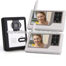 "3.5"" 2.4G wireless video door phone intercom manufacturer 2012"