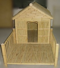bamboo dog house