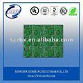 de circuito impreso con verde máscara de soldadura