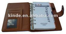 2012 High Quality A5 Notebook Calendar