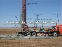 KXD600 T guaranteed high efficient water well drilling rig