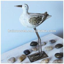 Decorative ceramic seagulls, porcelain seagulls sculpture