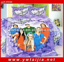 stock! Cheap 100% cotton 4pcs baby bedding
