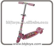three wheel children foot scooter