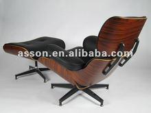 Eames Lounge Chair and Ottoman (Original Base) (#ABL0019)---Designer Furniture/ Modern Classic Furniture