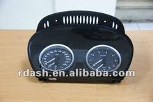 Racing Dash M6 dashboard ring for E60 chrome