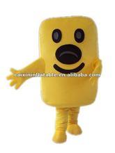 butter mascot costume