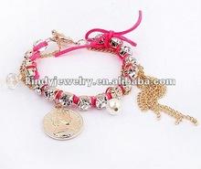 fashion leather cord bracelet