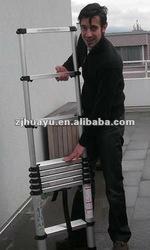 EN131/GS/TUV escada de aluminio telescopica
