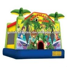 2012 new Tropical Island Jump Bounce House