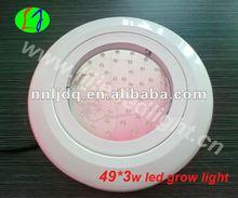 49*3W led ufo 3w led grow light red and blue