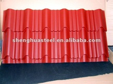 Good quality corrugated metal roofing tiles in YIwu