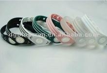 2012 custom silicon balance bracelet,hologram ions bracelet