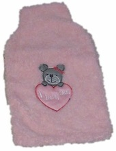 hot water bottle and bottle cover