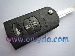 Mazda 2 series Mazda 2 button remote key (433Mhz)