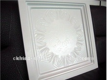(2012 new product) square metal ceiling tile/lotus pattern