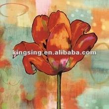 wholesale impressionist flower oil painting on canvas