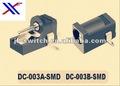 Conector de alimentación en blanco (SMD Conector de alimentación/ Conector de alimentación portátil) Conector 003A-smd,dc-003b-smd