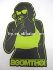 matte vinyl stickers(SS-301)
